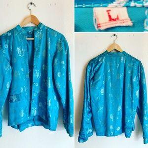Vintage Mandarin style Jacket